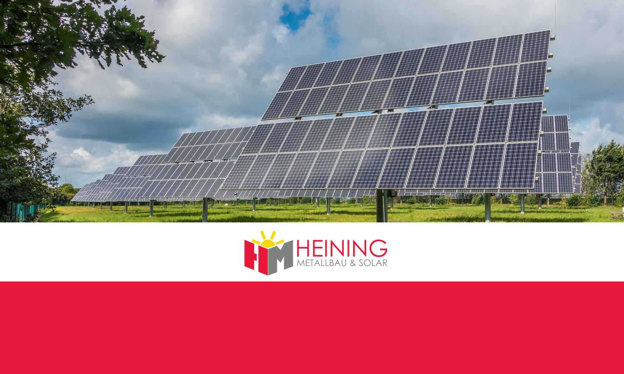 Heining | Metallbau & Solar Kemnath